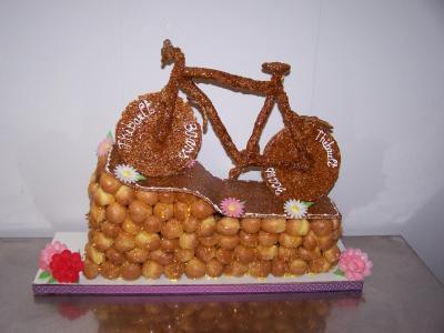 pièce montée vélo